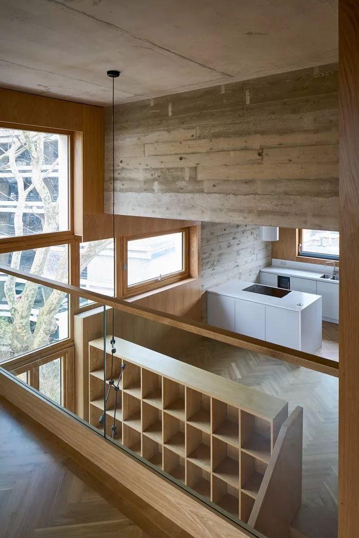 建筑师独立开发的公寓楼,真是好房子!_23
