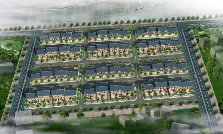 [湖北]生态园新农村安置小区规划设计方案文本