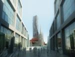 现代城市建筑3D模型下载
