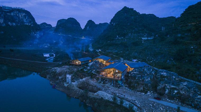 贵州安龙国家山地户外运动示范公园游客服务中心