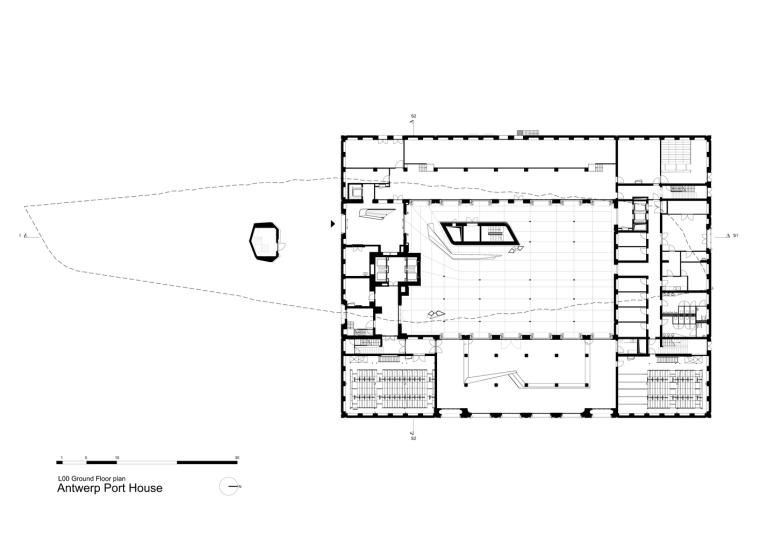 比利时安特卫普港口大楼-26