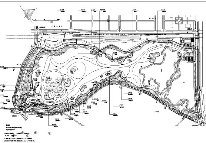 [广东]岭南文化滨湖生态湿地公园景观设计施工图_3