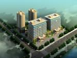 [鹰潭]十层现代风格办公及住宅建筑设计方案文本