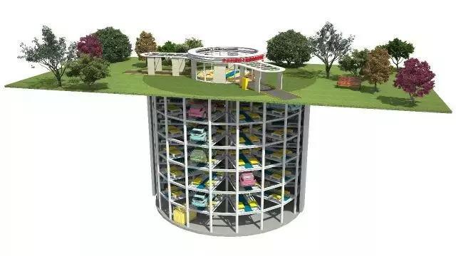全国首个装配式、沉井式地下停车库,