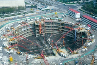 [上海]超高层建筑深基坑施工方案(明挖法 暗挖逆作法)