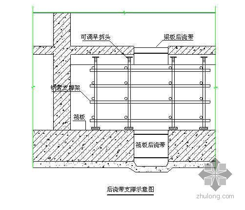 成都某医疗综合楼工程地下室施工方案(详图丰富 附模板计算书)