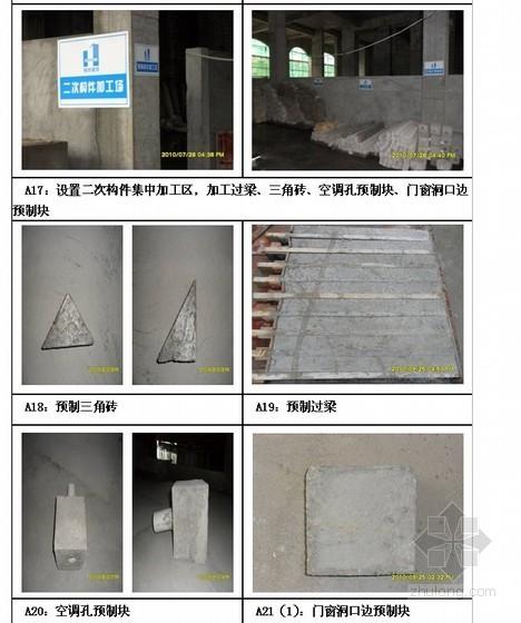 某上市地产砌筑工程标准做法