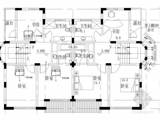 VRV风管机空调图资料下载-[上海]别墅VRVⅡ空调系统设计施工图