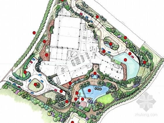 [深圳]高端商务体验式酒店景观规划设计方案(知名设计单位)