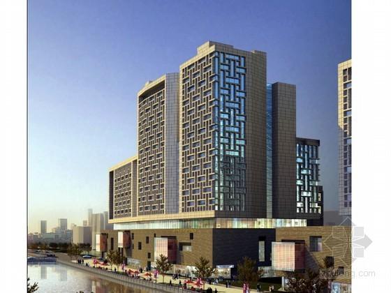 [河北]框架结构高层商场写字楼施工组织设计(创鲁班奖)