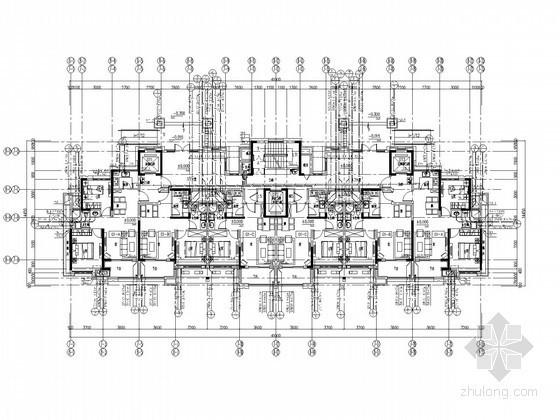 [山东]十九层住宅楼给排水施工图(太阳能热水)