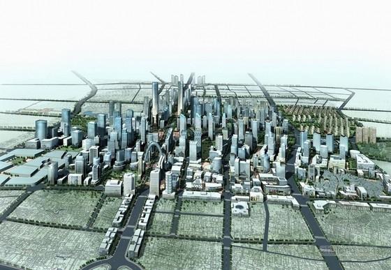 [湖南]大型商业区规划及单体设计方案文本(英国知名建筑设计公司)