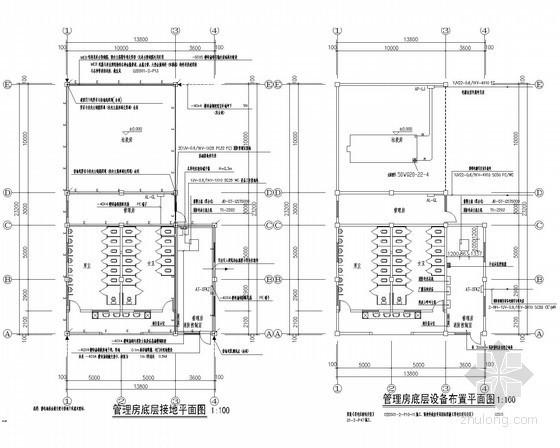 [四川]大型农贸市场电气全套施工图纸