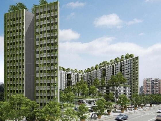 [广东]大型住宅区规划及单体设计方案文本(新加坡知名建筑事务所)