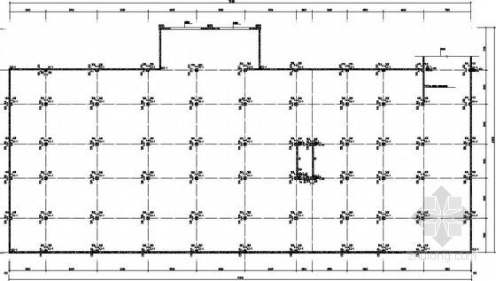 [山东]框架井字梁地下车库结构施工图