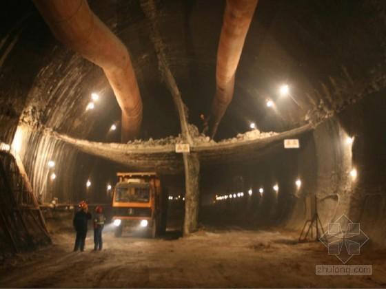 隧道交叉中隔壁法(CRD法)进洞施工方案(附11张CAD)