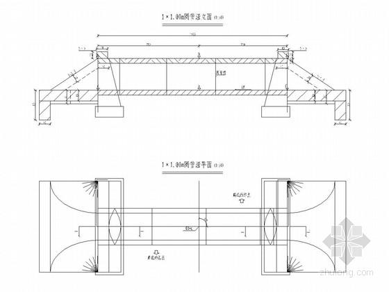 1-1.25m圆管涵通用设计套图