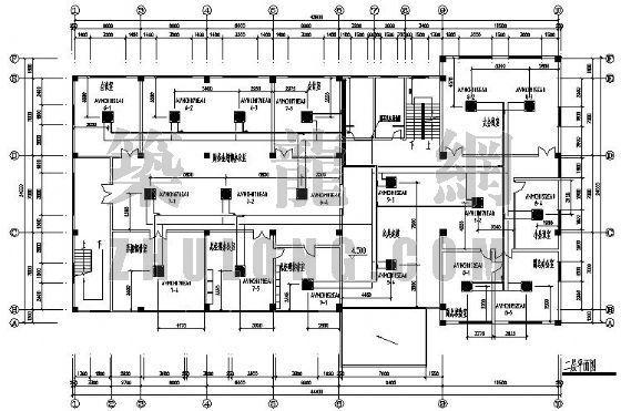 南京某辦公室VRV空調設計圖