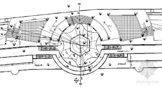 喷泉广场建筑施工详图