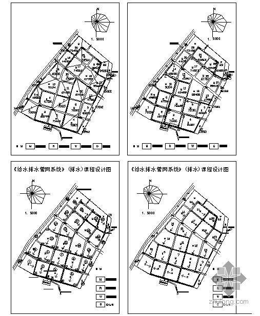 某大学市政给排水管网课程设计