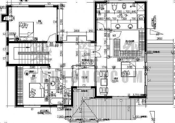 某别墅区设计方案(A)型-4