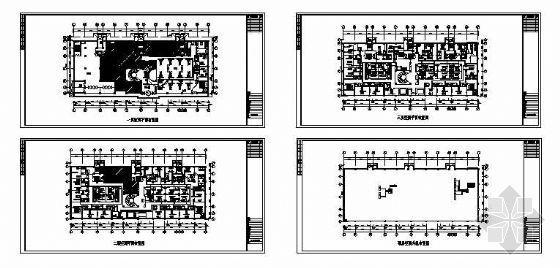 VRV空调平面资料下载-肯德基餐厅VRV空调平面图