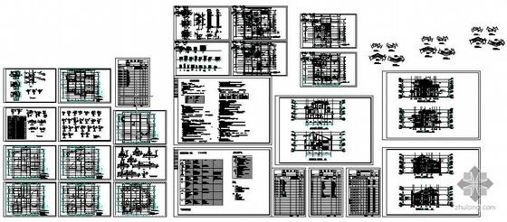 上海某别墅建筑结构施工图