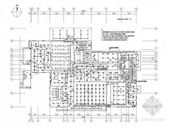 [四川]中西医住院综合楼全套电气施工图纸(安装大样)