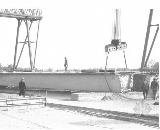 杭长高速公路某标段二次倒运存梁施工方案(2011年)
