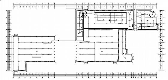 u型生产线布局图资料下载-某混凝土砌块生产线强电施工图