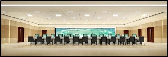 [葫芦岛]现代国家供电系统生产调度综合楼设计概念方案图调度室效果图