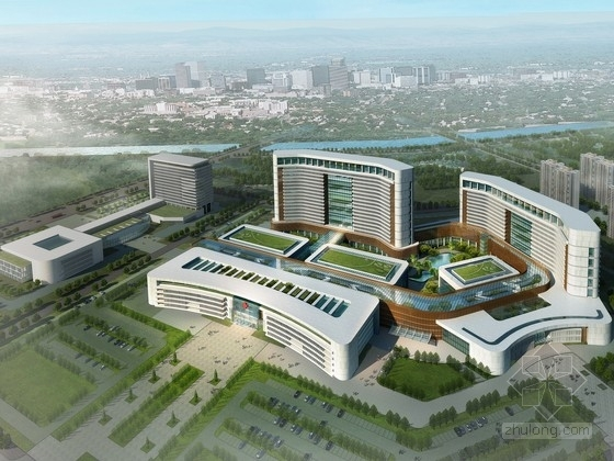 [山東]現代綜合三甲醫院規劃及單體設計方案文本(含PPT,資料齊全,內容豐富)