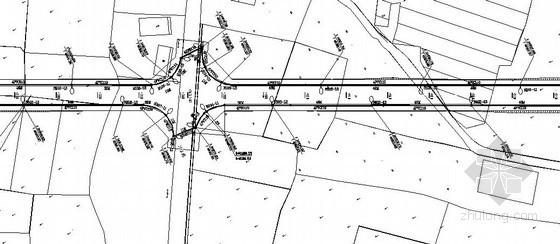某市政道路工程路灯布置电气施工图纸