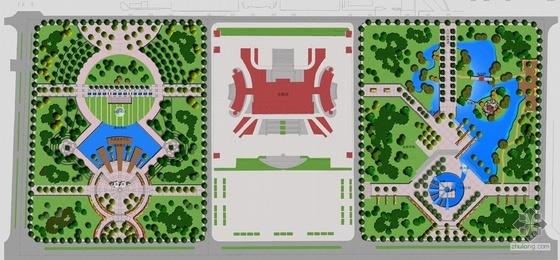 江苏广场景观设计方案