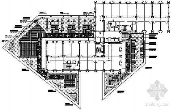 海泰裙房屋顶绿化设计图