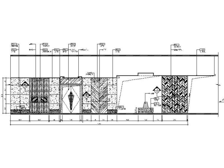 [北京]优雅唯美云南特色餐厅室内设计施工图(含效果图)_6