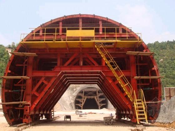 [毕业设计]隧道12米液压模板台车总体设计45页