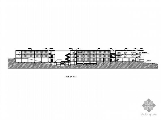 [东莞]某理工学院学生活动中心建筑施工图 (某著名建筑师设计)