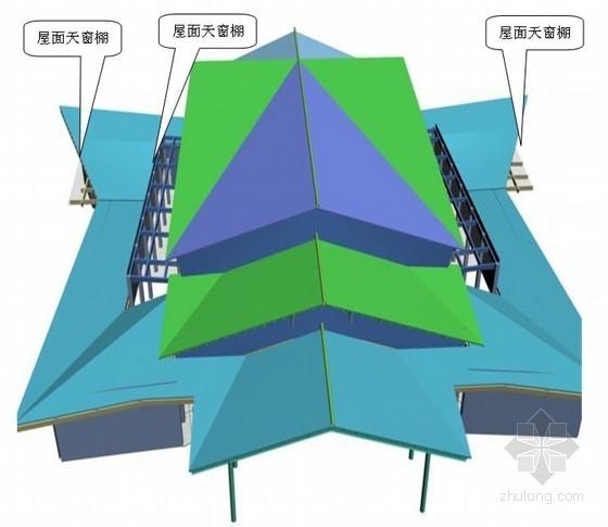 [湖北]会议中心金属屋面及钢结构工程施工组织设计(附三维流程图)