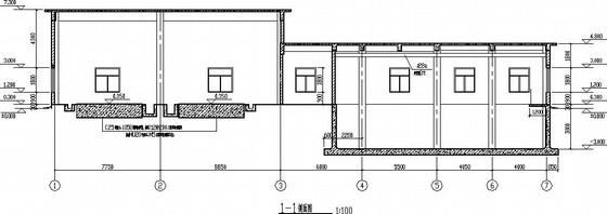 矿井水处理站设备用房结构施工图