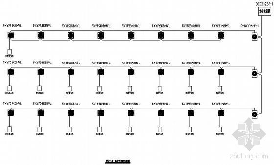 联合厂房一区空调控制系统图