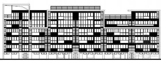 东部花园洋房12栋住宅楼建筑施工图