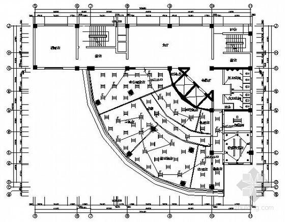 UPS插座布置资料下载-大楼计算机机房电气施工图纸