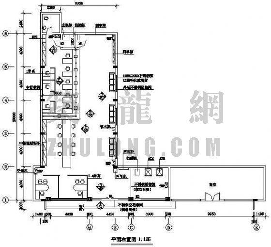 鹤山文明中银行竣工图