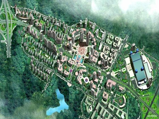 [重庆]某经济技术开发区北部园区规划文本及实景照片和CAD方案(中