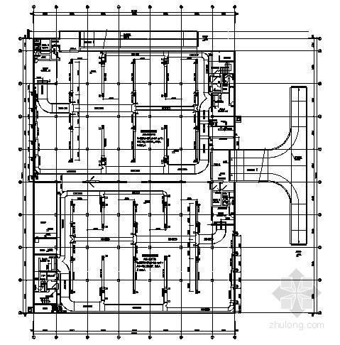 6级人防地下车库通风设计施工图