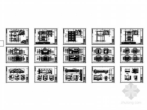 某会所现代中式套房室内装修总缩略图