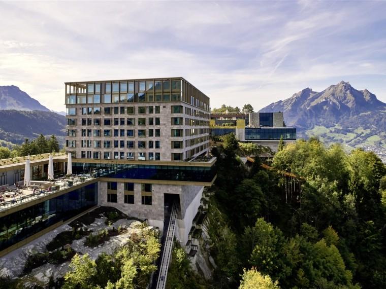 瑞士布尔根施托克酒店-00