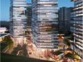 [成都]超现代风格滨水商业综合体建筑设计方案文本