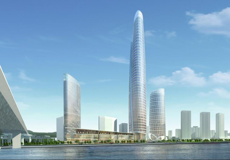 [江苏]苏州九龙仓超高层酒店商业住宅建筑设计方案文本